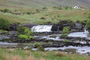 Connemara Ashleagh waterfalls